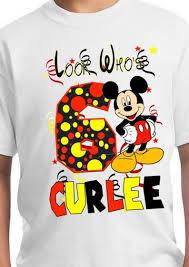Mickey Mouse Birthday Shirt / Mickey ...
