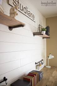 shiplap wall for under 50