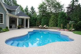 Backyard Swimming Pool Designs Gorgeous Fiberglass Pools Pros Cons Costs