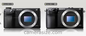 Sony Nex Comparison Chart Sony Nex 6 Vs Nex 5r Vs Nex 7 Comparison