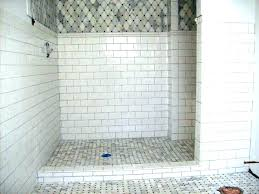 charcoal grout large subway tile with gray grout bathroom white subway tile large size of white