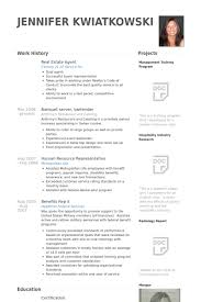 real estate agents resume