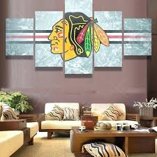 chicago blackhawks bedroom decor wall art picture modern home pertaining to contemporary household blackhawks wall decor remodel