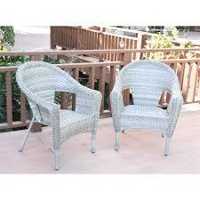 jeco clark resin wicker patio chair in