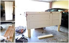 old door furniture ideas. Diy Vintage Door Headboard, Bedroom Ideas, Diy, Doors, Home Decor, Rustic Old Furniture Ideas