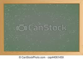 School Chalkboard Background Empty Green School Chalkboard Background Texture With Frame Vector
