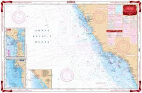 Ocean Charts Waterproof Charts Point Eugenia To Mazatlan Mexico Nautical Marine Charts