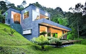 adorable steep hillside home plans steep hill house plans small hillside home plans hillside home plans