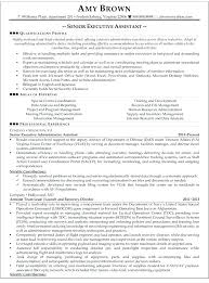 Sample Executive Resume Format Resume Examples Executive Assistant Executive Assistant Resumes