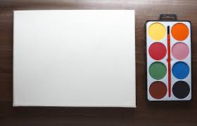 have you tried painting watercolors on canvas yet