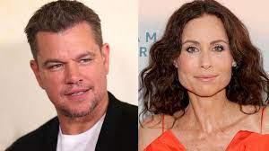 Minnie Driver ran into Matt Damon for ...