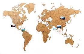 <b>Деревянная карта мира World</b> Map True Puzzle Large, коричневая ...