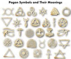 Celtic Symbol Chart Pagan Symbols And Their Meanings Exemplore