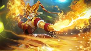 slayer lina fire harlequin skin dota 2 hd wallpaper for pc tablet
