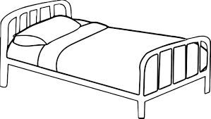 Small Picture Any Pink Bed Coloring Page Wecoloringpage