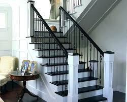 stair rail ideas interior metal railing modern stairs rustic outdoor stai