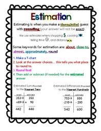 Estimation Lessons Tes Teach