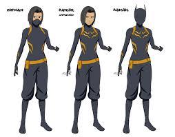 Unique Anime Character Design Artstation Batgirl Anime Character Designs Cassandra