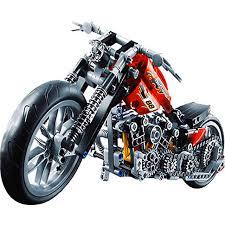 decool 3354 378pcs technic motorcycle building blocks eductional