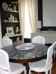 Mod Podge Kitchen Table Parlour Decoupaging With Fabric