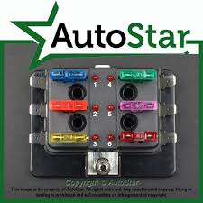 way blade fuse box positive bus in v led warning kit car click on the image to enlarge