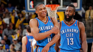 Houston Rockets | Westbrook and Harden's best plays together in OKC - James  Harden