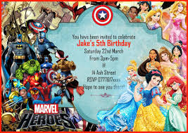 American Greetings Templates 21 Superhero Birthday Invitations Psd Vector Eps Ai
