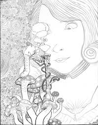 Small Picture alice in wonderland coloring pages tim burton Google Search
