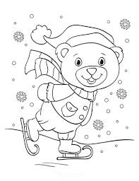 These free printables are perfects on those cold winter days. 80 Best Winter Coloring Pages Free Printable Downloads