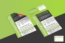 Fedex Brochure Design Modern Upmarket Flyer Design For Greenlight One Llc By Mega