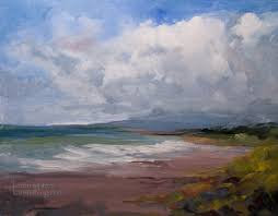 moonstone beach cambria oil painting