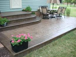 cosy backyard concrete patio ideas fabulous concrete patio ideas ideas about stamped concrete