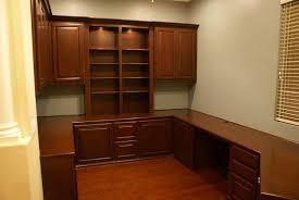 Classic Home Office Design Interesting Attractive Custom Desk For Home Office Built In Design Impressive