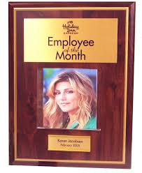 Employee Of The Month Photo Frame Employee Of The Month Plaques And Awards