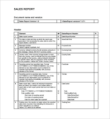 Word Report Format Retail Sales Report Template Sales Record Template 3 Free Daily