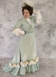 La Designs Costumes 1903 1904 Promenade Gown Made By La Belle Epoque Design