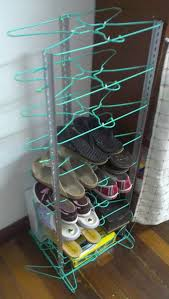 Coat Hanger And Shoe Rack Brilliant Ways To Repurpose Coat Hangers In DIY Simple Projects 27