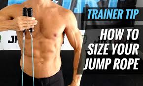 Speed Rope Size Chart How To Size A Jump Rope