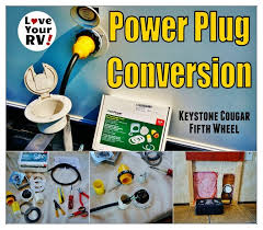 installing a marinco 30 amp rv power plug conversion kit parkpower marinco 30 amp rv power plug conversion kit love your rv mod