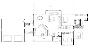 open concept ranch home plans open floor plans for small homes new