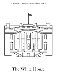 Small Picture White House Coloring Pages Throughout House Coloring Page itgodme