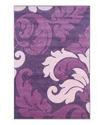 purple baby pink damask corfu rug