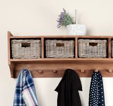 Wall Coat Rack With Storage Interior Coat Rack With Shelf And Baskets Hall Bench And Coat Rack 42