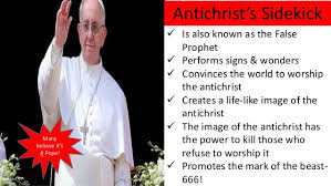 Image result for those who can't stop naming the antichrist and false prophet