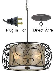 drum lighting lowes. drum pendant chandelier bronze iron mica light lighting with crystals lowes g