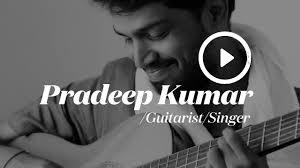 Pradeep Kumar - Guitarist/Singer | Photoshoot by The Storyteller - YouTube
