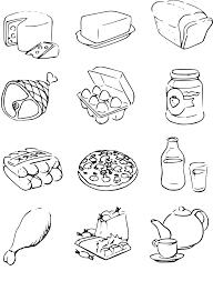 Dessin Aliments Imprimerl