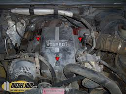 7 3l power stroke glow plug replacement guide  Ford Engine Air Heater 7 3 Powerstroke Wiring engine cover removal