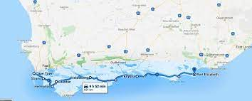 cape town to port elizabeth via garden