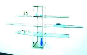 glass shelves ikea marvelous floating glass shelves home design floating glass shelf brackets charming floating glass